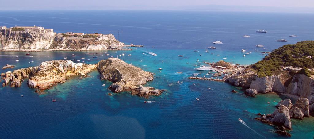 Isola di Cretaccio alle isole Tremititi