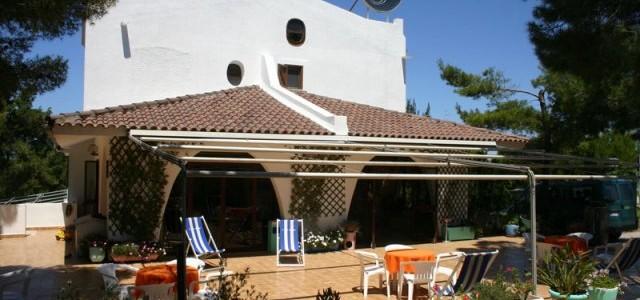 La terrazza dell'hotel