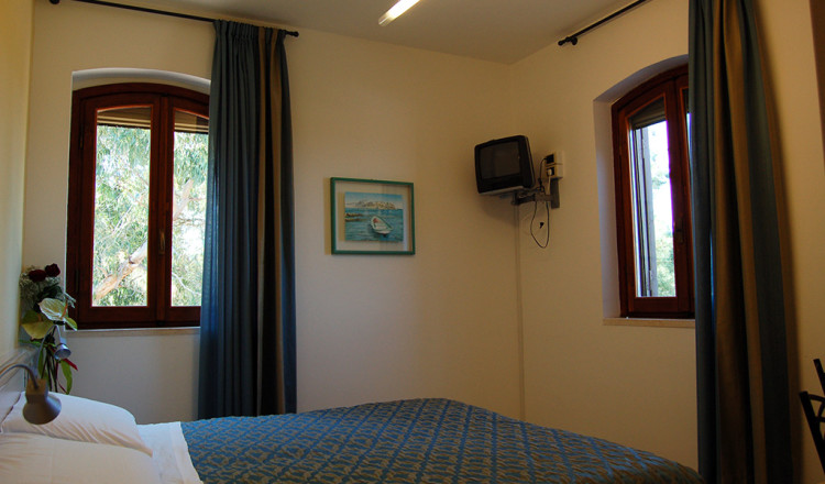 Camera con vista sul giardino Hotel San Domino