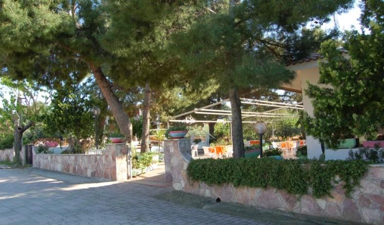 Hotel San Domino dalla strada