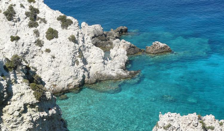 Il mare blu delle isole Tremiti